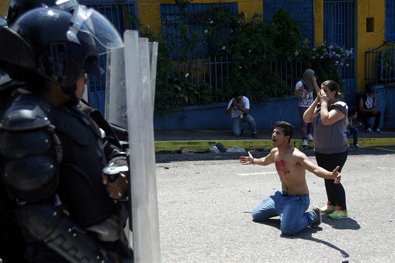 Kluiverth Roa  fue asesinado en Venezuela por un policía su hermano les plantó cara / Foto: STRINGER VENEZUELA / REUTERS