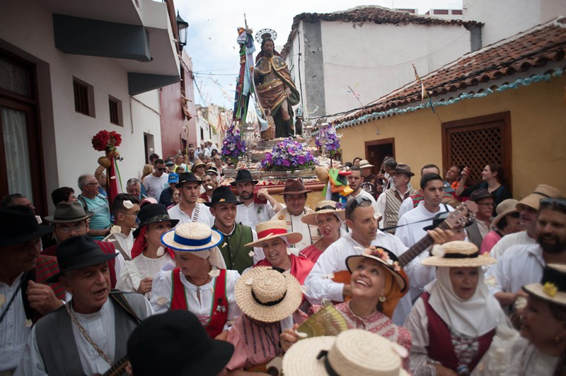 Romería de Garachico 2015. / FRAN PALLERO