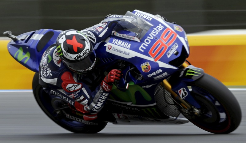 Jorge Lorenzo (Yamaha) en Brno