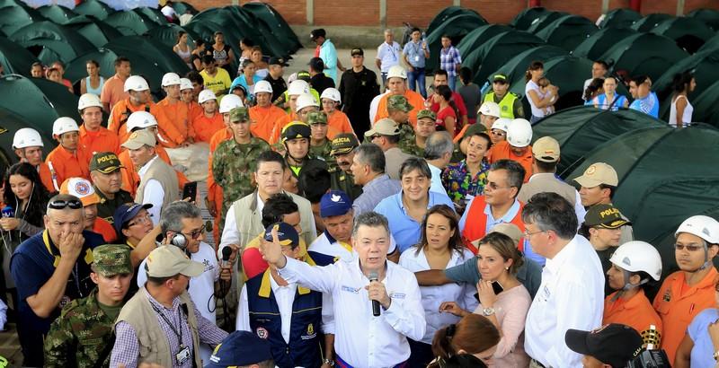 Según cifras oficiales, hay 1.097 colombianos deportados y 7.162 retornados, de los cuales 1.333 se encuentran en uno de los cinco sitios albergues de los que dispone el Gobierno de Colombia en la frontera. / REUTERS