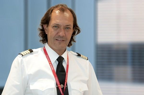 Alberto Hevia, comandante de Iberia Express./ DA