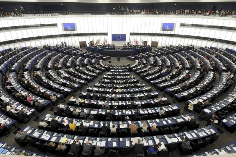 Parlamento Europeo, durante una sesión plenaria. / DA