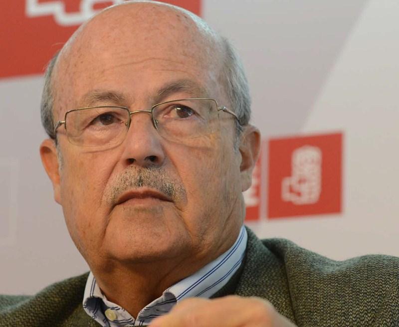 José Segura, diputado tinerfeño del PSOE en el Congreso. / SERGIO MÉNDEZ