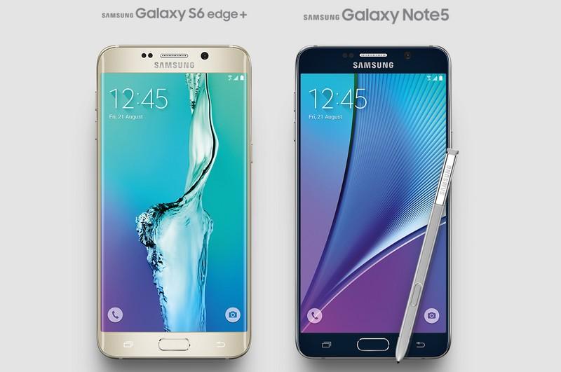 Ambos modelos incorporan lector de huellas para Samsung Pay y estabilizador digital de imagen. / SAMSUNG