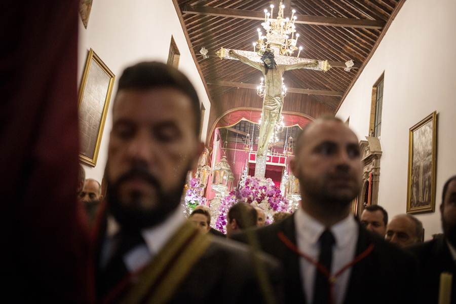 Procesión del Cristo de La Laguna. | ANDRÉS GUTIÉRREZ