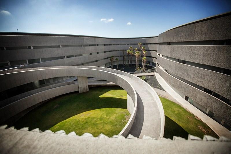Juan González, Urbano Yanes y Constanze Sixt son los responsables de esta obra arquitectónica. / DA