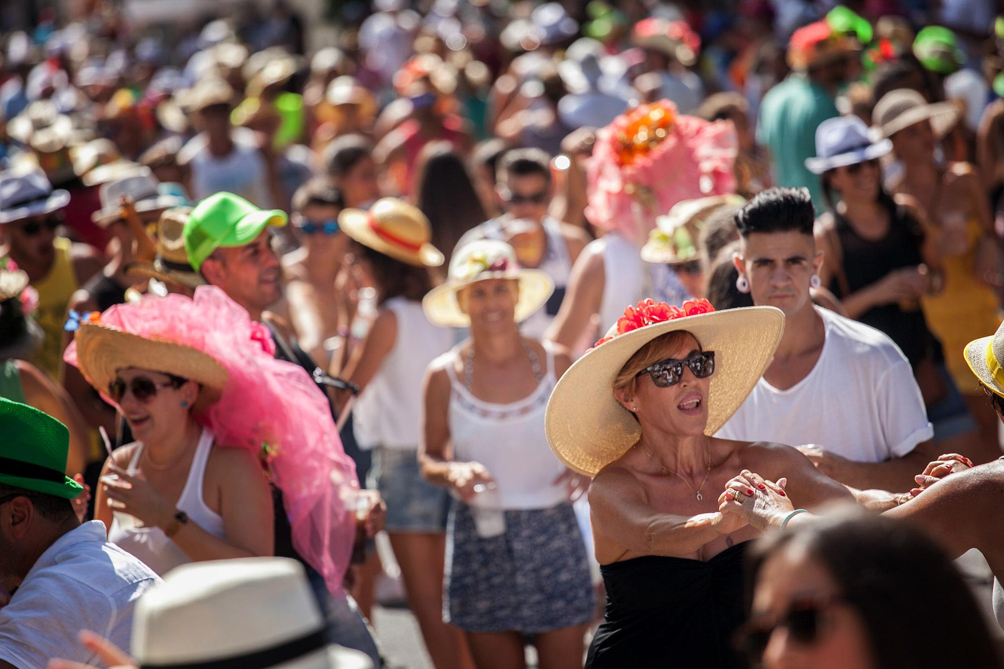 El acto más divertido de las fiestas de Tejina. | AG