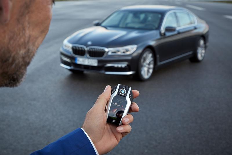 BMW Serie 7 Display Key
