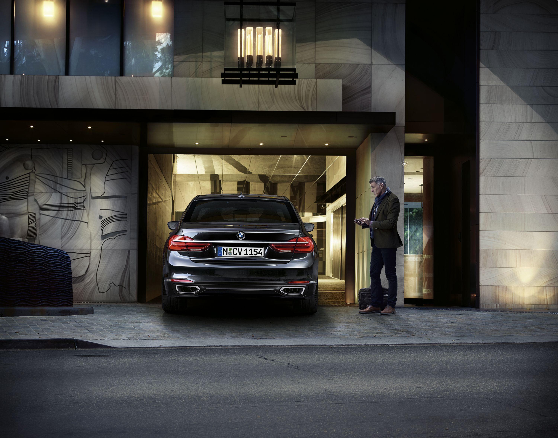 BMW Serie 7 aparcamiento remoto