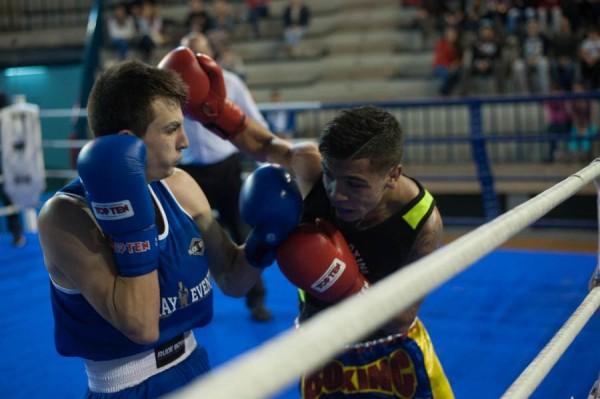 Caco Barreto hará su segundo combate como profesional. / FRAN PALLERO
