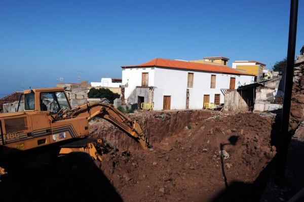 Las obras para rehabilitar el inmueble, situado en el casco del municipio, comenzaron en 2010. | MOISÉS PÉREZ