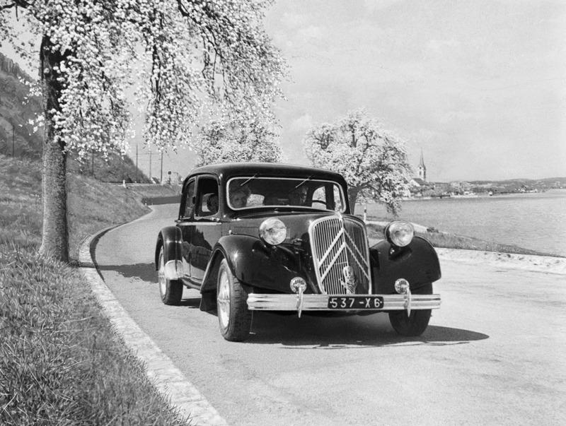 Citroen TRACTION AVANT 15 SIX D 1953