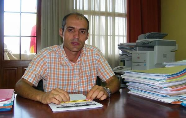 David Rodríguez, cuando era alcalde de La Frontera. | S. M.