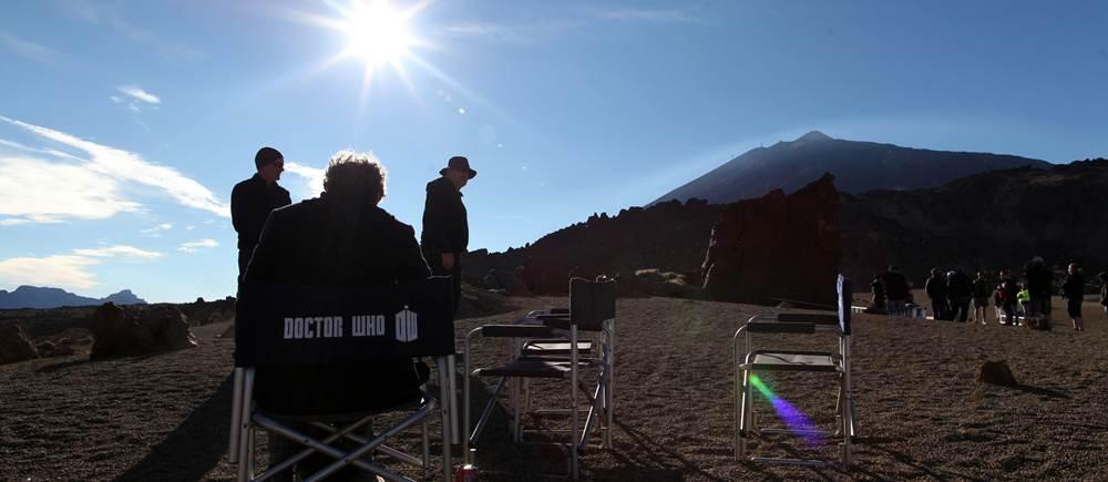Rodaje en el Teide de Doctor Who. | BBC