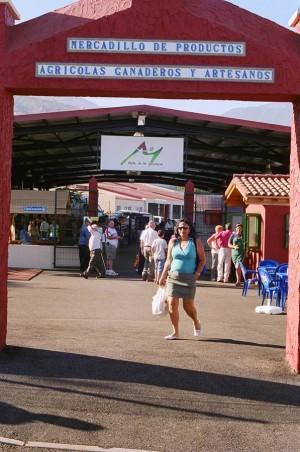 El Mercadillo del Agricultor de La Orotava fue objeto de mejoras en octubre del pasado año.   DA