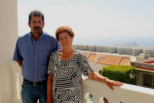 Elisa Regalado Delgado y Benito Hernández Barrera. | DA