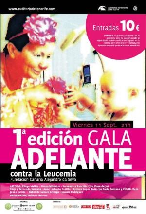 Cartel de la 'Gala Adelante'. | DA