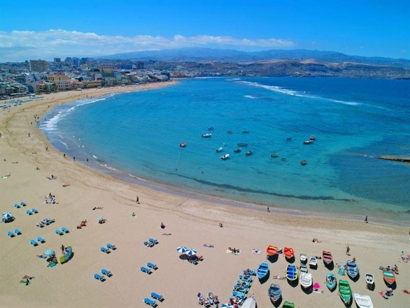 Playa de Las Canteras. / AYTO. GRAN CANARIA