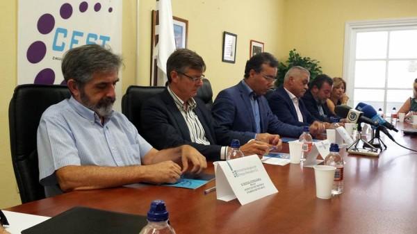 De izquierda a derecha: Manuel Cendagorta, Miguel Becerra, Jordi Esplugas y Jaime González Cejas. | DA
