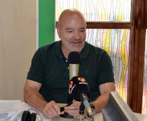 Miguel Concepción durante el programa Bota Heliodoro.   CD TENERIFE