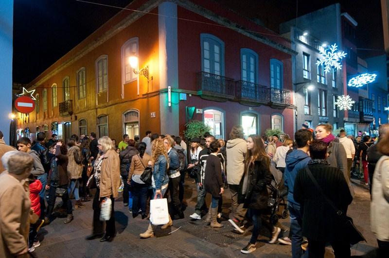 Todas las ediciones de la Noche en Blanco han sido un gran éxito de público. / F. P.