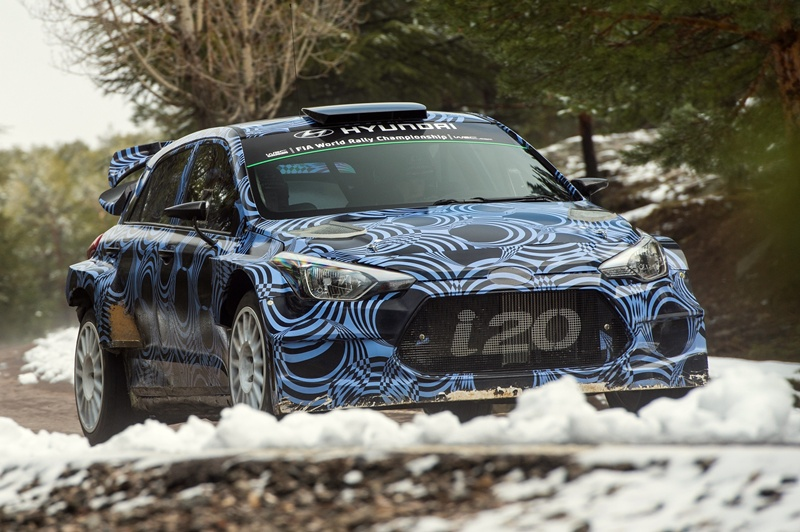 Nuevo i20 WRC 2016