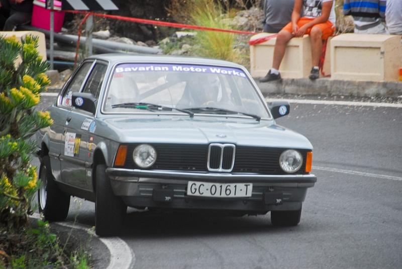 Óscar Álvarez-María Marrer (BMW 316) vencedores en la Copa Regularidad Sport.  DA