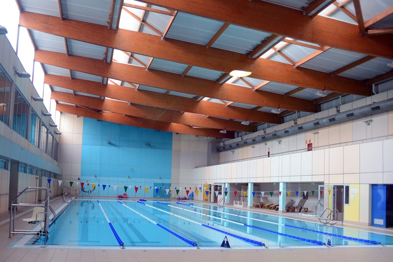 La piscina de Tasagaya permanece sin actividad desde el 9 de septiembre del año pasado. / SERGIO MÉNDEZ