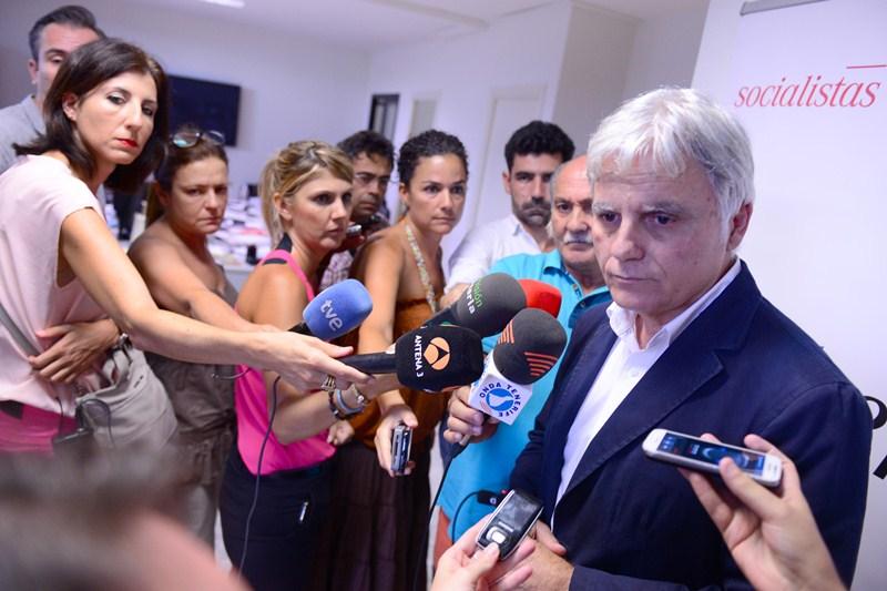 José Miguel Pérez, secretario general del PSOE de Canarias. / SERGIO MÉNDEZ