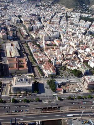 Panorámica de la iglesia de la Concepción y su entorno. | M. P. P.