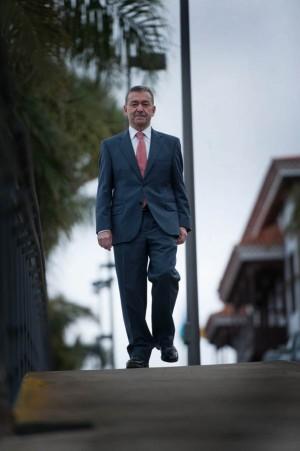 El expresidente del Gobierno tiene el beneplácito de la clase empresarial. | FRAN PALLERO