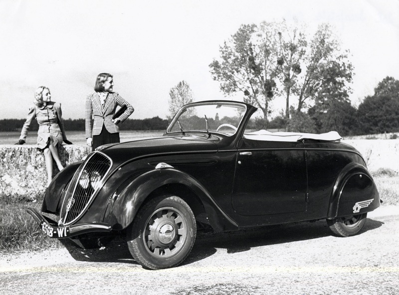 Peugeot 202 cabriolet 1939