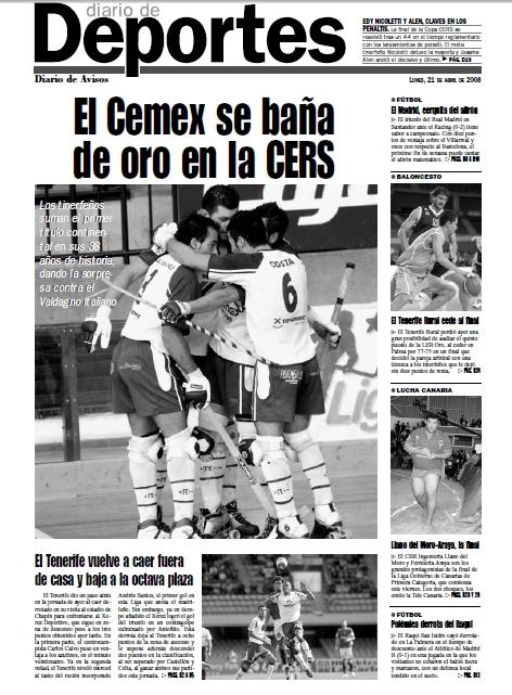 El Patín Tenerife logró el primer y único título continental de su historia en sus casi 40 años de existencia| DA