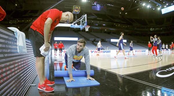 Rudy Fernández continúa trabajando para mejorar de su lesión| AL