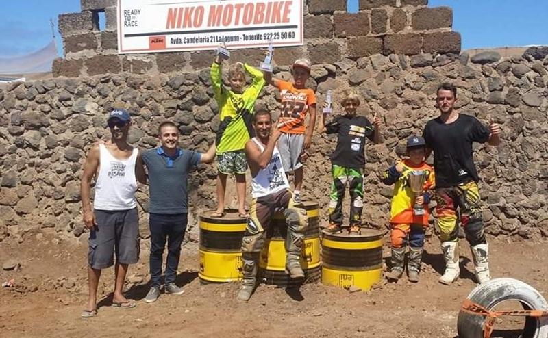 Supercross podio Punta del Hidalgo