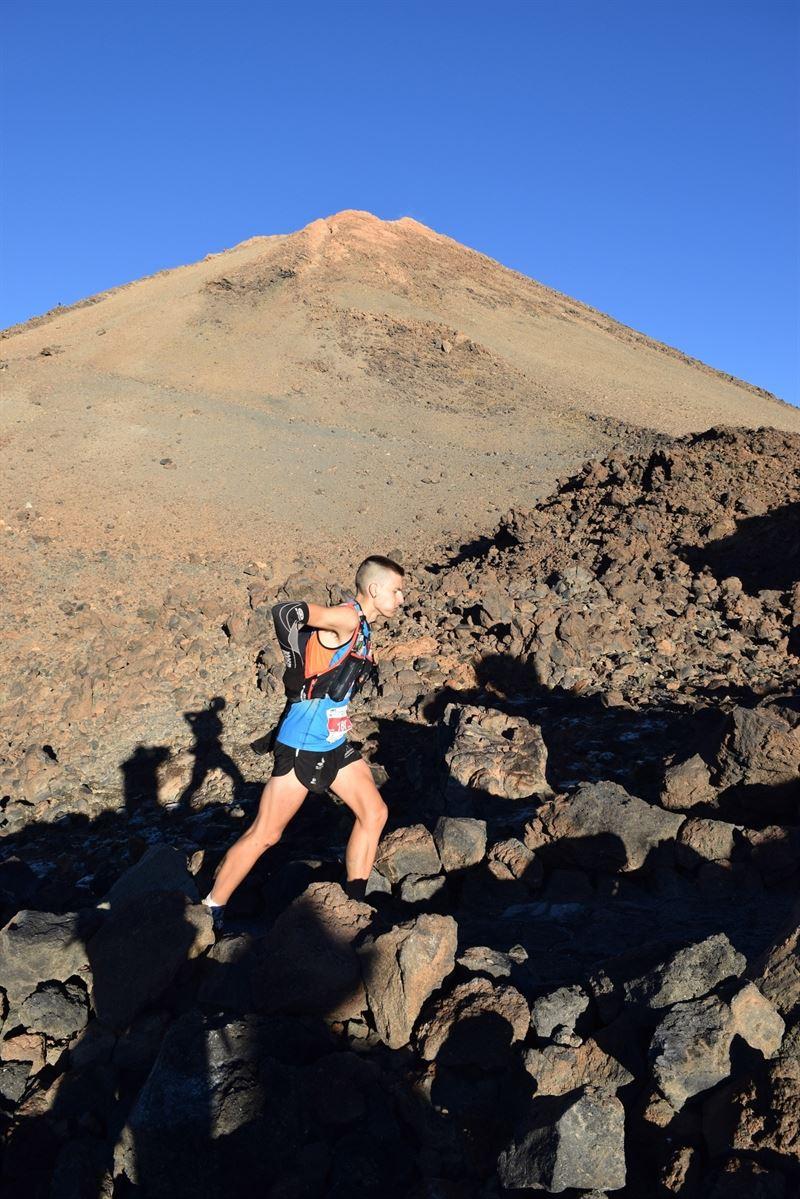 Imagen de archivo de la Tenerife BlueTrail del año pasado. | EP