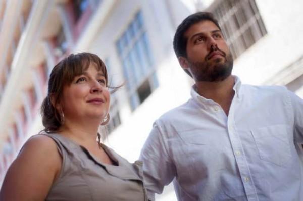 Yaiza Afonso y Eligio Hernández. | DA