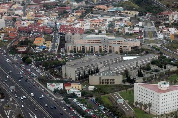 Campus de Guajara de la Universidad de La Laguna. | M. P.