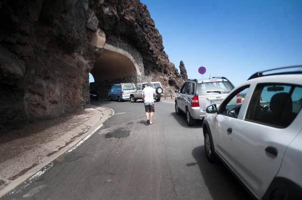 La vía reabrió al tráfico a finales del mes de julio. | DA