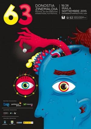 Cartel de la edición número 63 del certamen cinematográfico.   DA