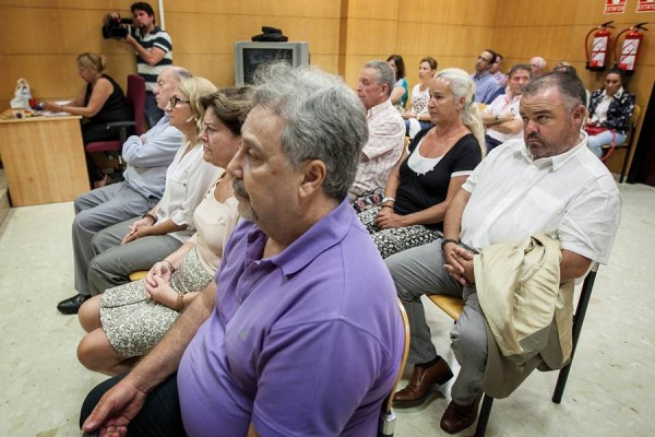 Un momento del juicio del caso Varadero. | ANDRÉS GUTIÉRREZ