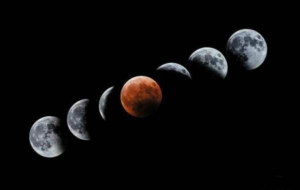 Cómo será el eclipse de Superluna.   INTERNET
