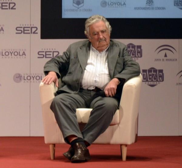 José Mujica, expresidente de Uruguay, participó en el foro celebrado en Córdoba. / JOSÉ LUIS CÁMARA