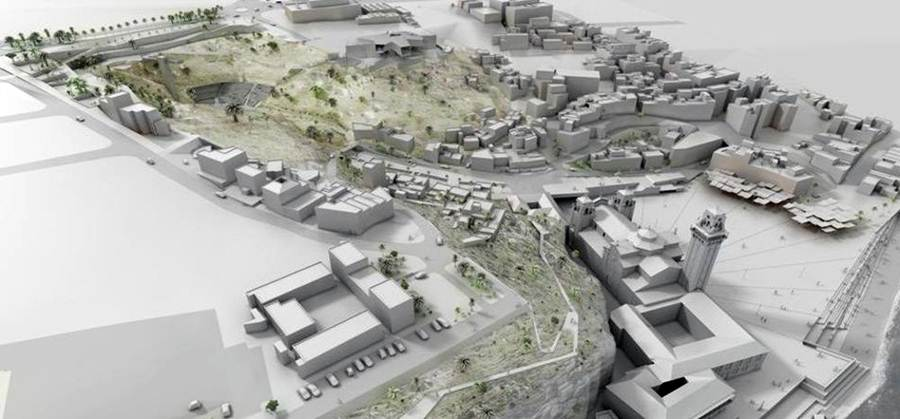 Croquis de cómo quedaría la plaza y sus alrededores una vez desarrollado el proyecto. | DA