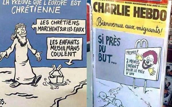 Portadas de Charlie Hebdo que han causado revuelo. | DA