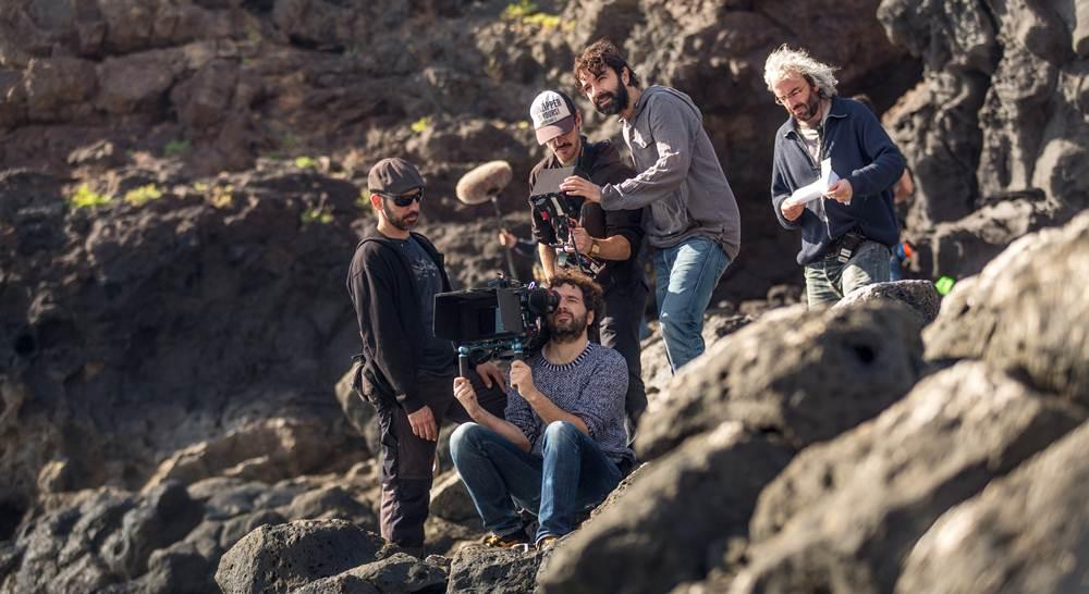 El canario Mateo Gil dirige la película Lazarus. |