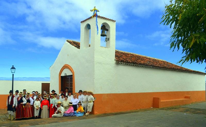 La agrupación musical La Acequia, integrada por más de 30 personas, es un referente en el municipio. / DA