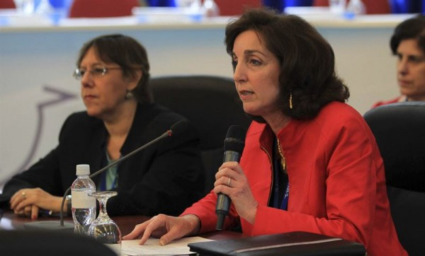 Roberta Jacobson.   REUTERS