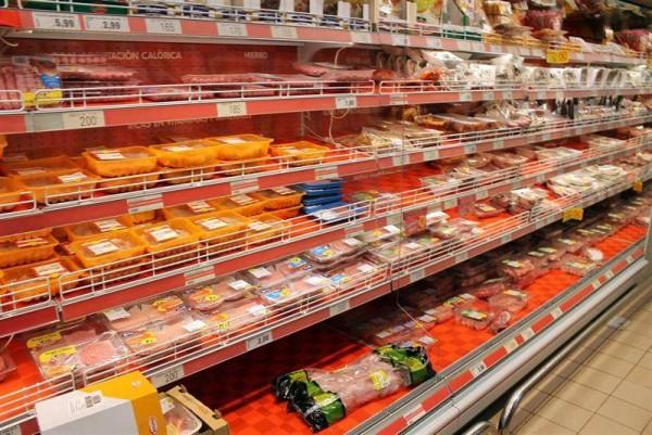 Imagen de un lineal de supermercado. | EUROPA PRESS