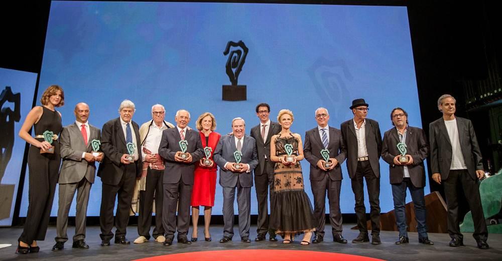 Los premiados. | DA